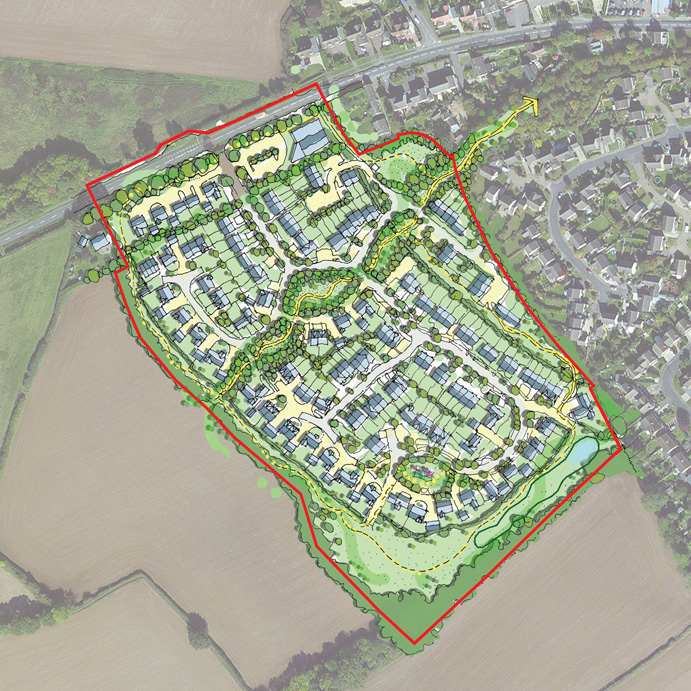169 homes affordable housing long hanborough planning consent