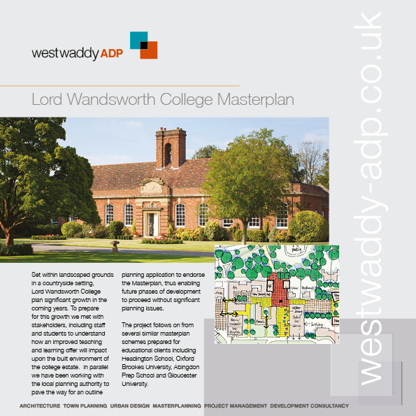 West Waddy ADP, Architecture, Planning, Town Planning, Urban Design, RIBA, RTPI