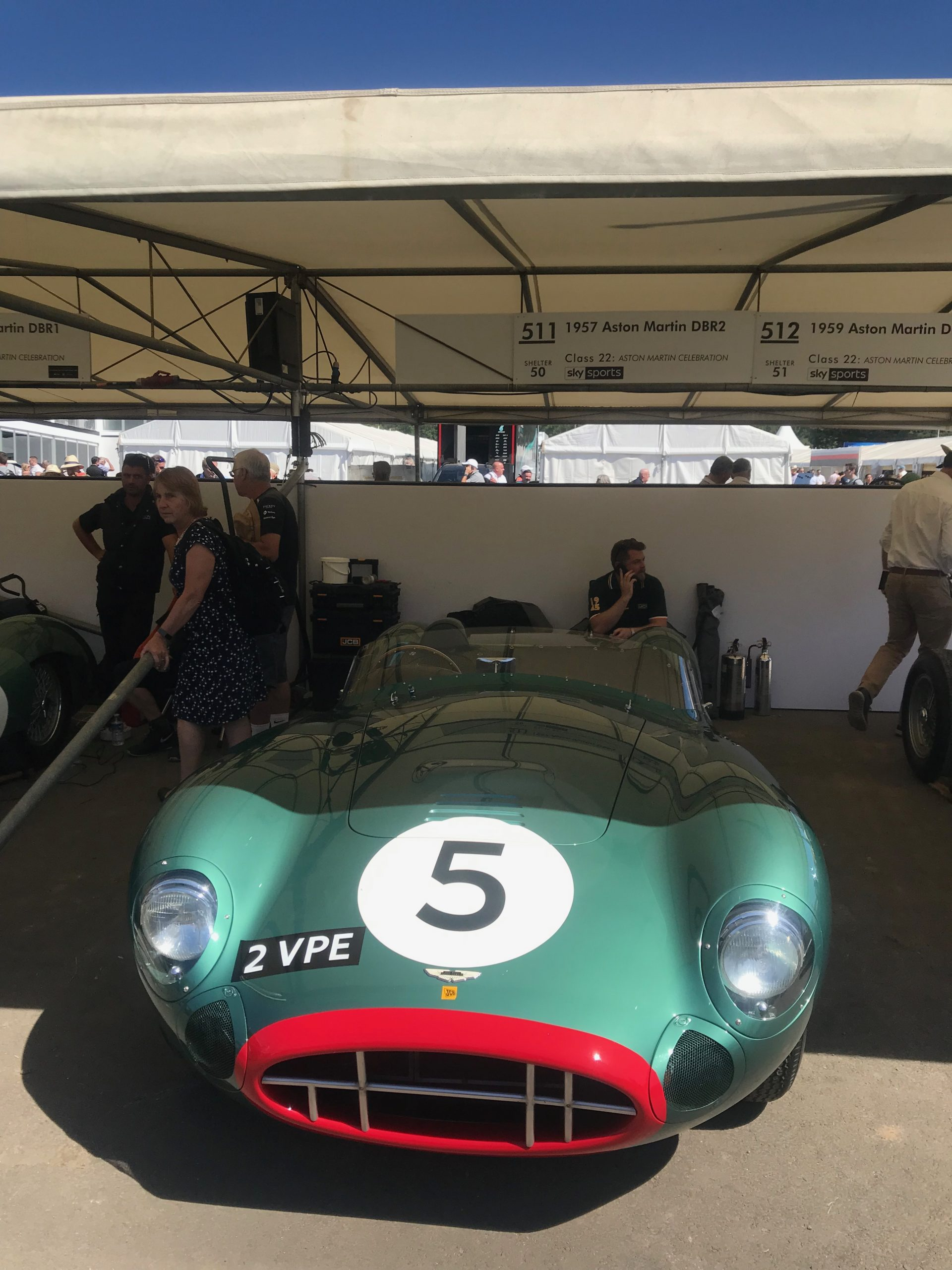 Goodwood Festival of Speed, West Waddy