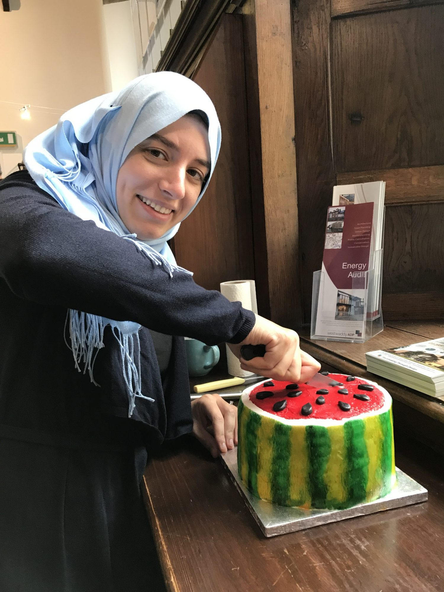 Happy Birthday, Bakeoff, bake, bake-off, cake, West Waddy, West Waddy ADP, Rashed Mustafa, Julie Mann, Architects, Town Planners, Urban Designers, Abingdon, Oxford, Oxfordshire