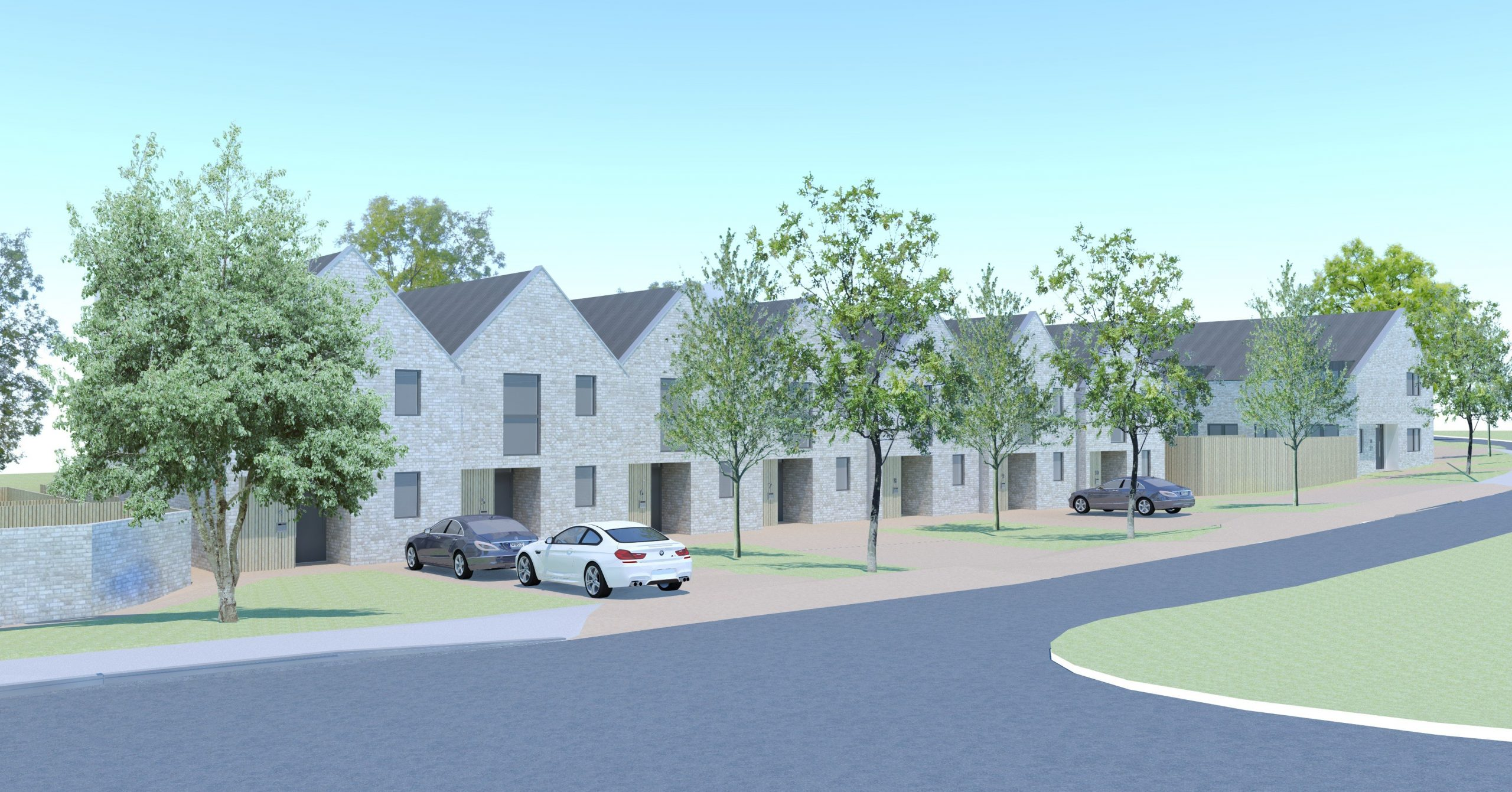 Social Housing, Cambridge House, Dursley, West Waddy, Architects, Town Planners, Urban Designers
