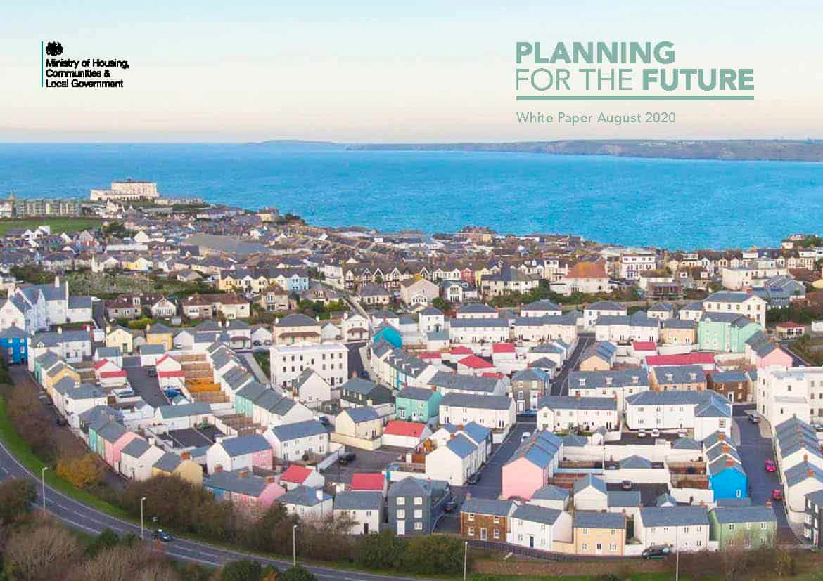 White Paper, MHCLG, Planning for the Future, West Waddy, Architects, Town Planners, Urban Designers